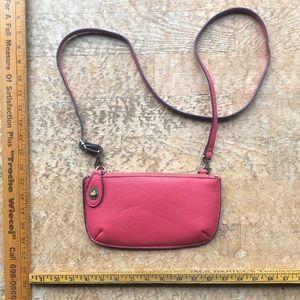 Vegan leather joy Susan clutch purse